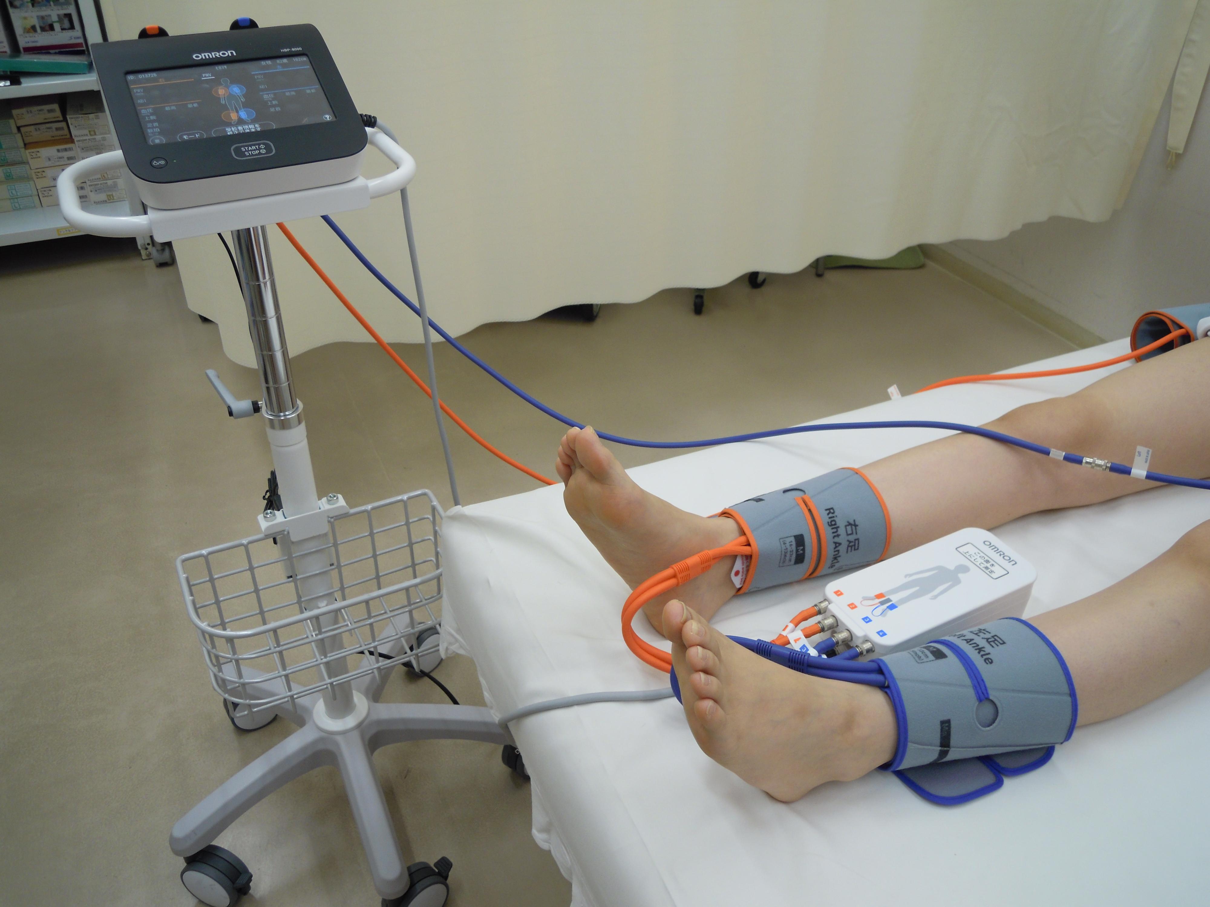 動脈硬化症検査機器